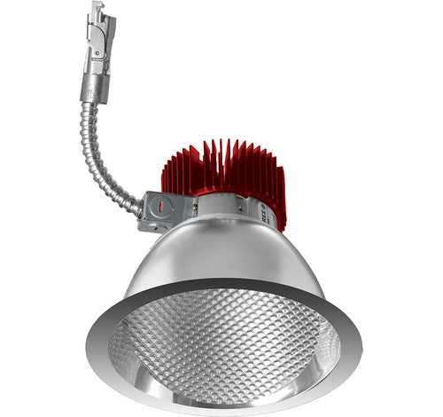 ELCO Lighting E611L3027C 6 Inch LED Light Engine with Wall Wash Trim Chrome Finish 2700K 3000 Lumens