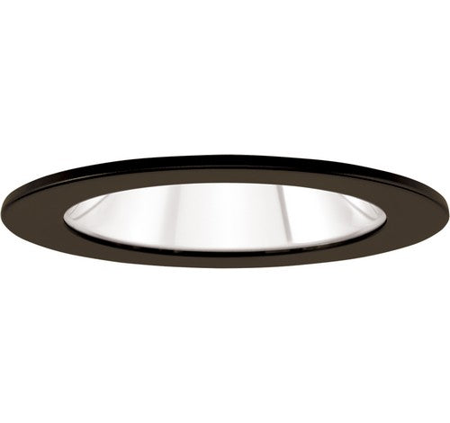 "ELCO Lighting EL1411BZ 4"" Adjustable Shower Trim with Clear Reflector and Lens Trim Bronze"