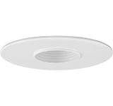 "ELCO Lighting EL1419W 4"" Baffle with 1 7/8"" Pinhole Aperture Trim White"