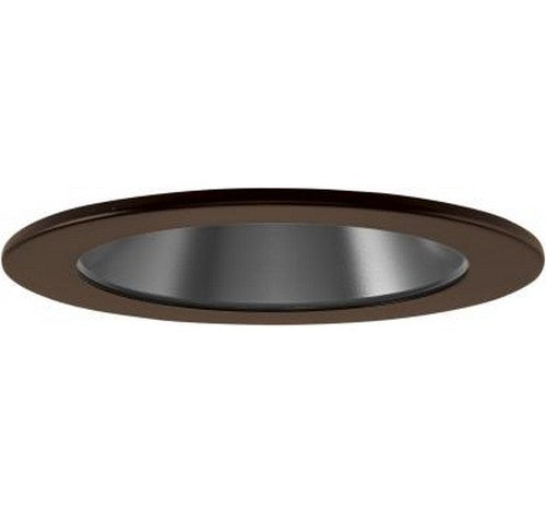 "ELCO Lighting EL1421BN 4"" Adjustable Reflector Trim Black with Nickel Ring"