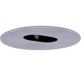 "ELCO Lighting EL1430N 4"" Adjustable Slot Aperture One Piece Trim Nickel"