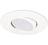 "ELCO Lighting EL1434WW 4"" Gimbal Ring with Deep Baffle Trim All White"
