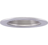 "ELCO Lighting EL1493N 4"" Adjustable Step Baffle Trim All Nickel"