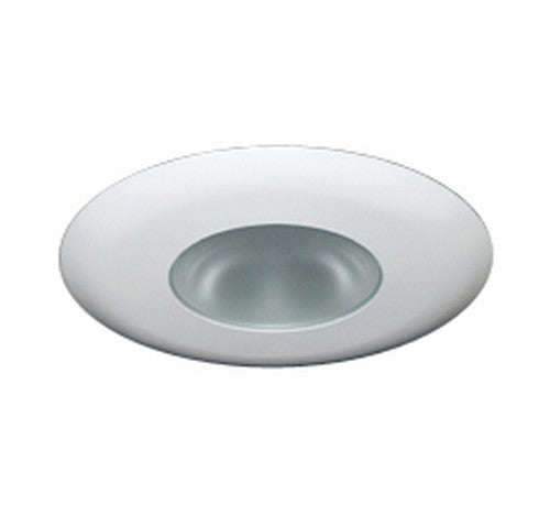 "ELCO Lighting EL2512W 6"" Shower Trim with Diffused Lens White"