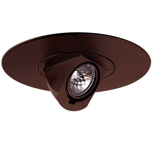 "ELCO Lighting EL2597BZ 6"" Adjustable Pull Down Trim Bronze"