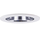 "ELCO Lighting EL2622C 3"" Adjustable Wall Wash Reflector Trim Clear with Nickel Ring"