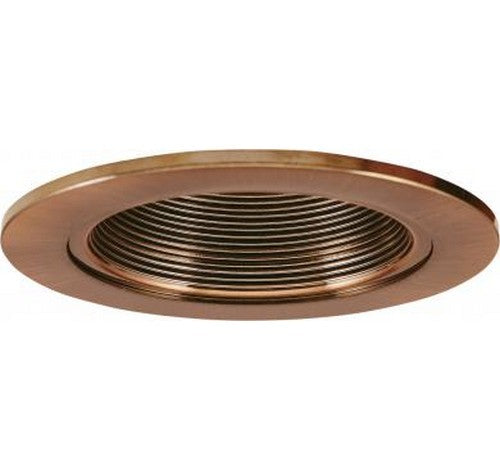 "ELCO Lighting EL2624CP 3"" Adjustable Wall Wash Baffle Trim Copper"