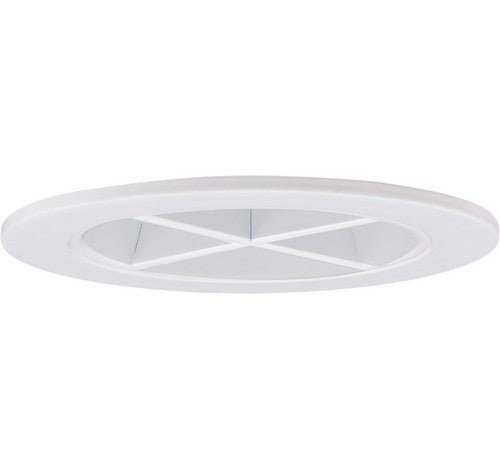 "ELCO Lighting EL2644W 3"" Reflector with Cross Blade White Trim"