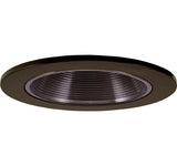 "ELCO Lighting EL2693BZ 3"" Die-Cast Adjustable Baffle Trim All Bronze"