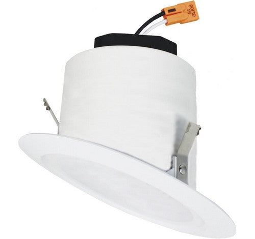 "ELCO Lighting EL42530W 12W 4"" Sloped Ceiling LED Reflector Insert 3000K, 900lm"