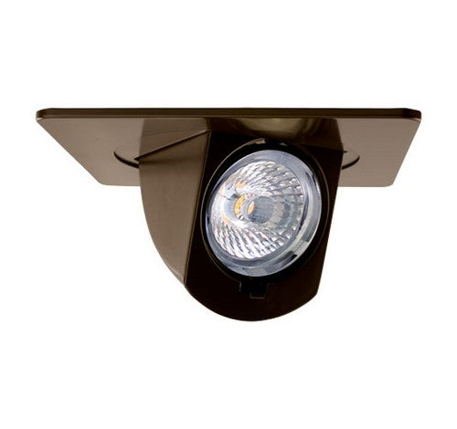 ELCO Lighting EL44730BZ 12.6 W 4 Inch Square LED Adjustable Pull-Down Insert Bronze Finish 3000K