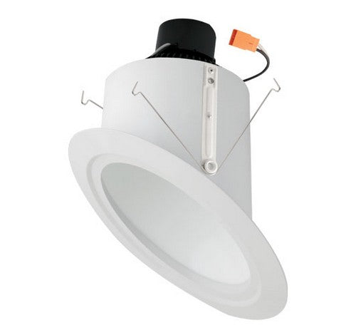 "ELCO Lighting EL76127W 15W 6"" Super Sloped Ceiling LED Reflector Inserts 2700K, 1050lm White"