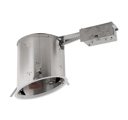 "ELCO Lighting EL918RICA 75W 6"" Sloped Ceiling Medium Base IC Airtight Remodel Housing"