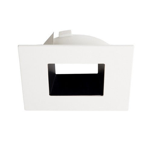 "ELCO Lighting ELL4641BW 4"" Diecast Square Reflector Flexa™ Trim Black with White"