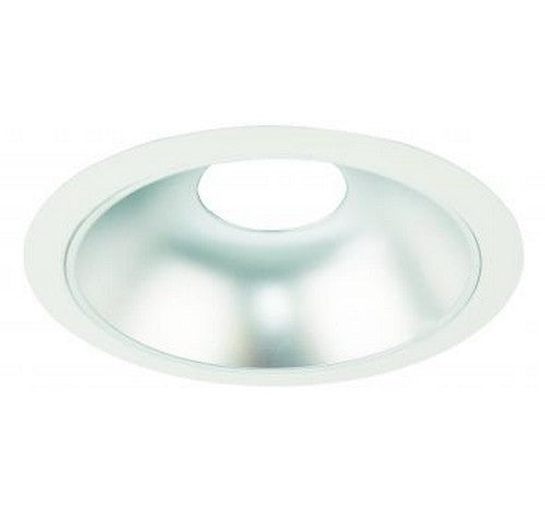 "ELCO Lighting ELL610HW Flexa™ 6"" Round Reflector Trims Haze Reflector with White Ring"