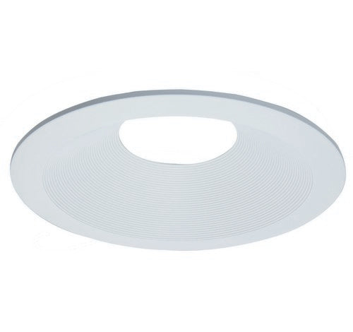 "ELCO Lighting ELL6813W Unique™ 6"" Diecast Round Baffle Trim White"