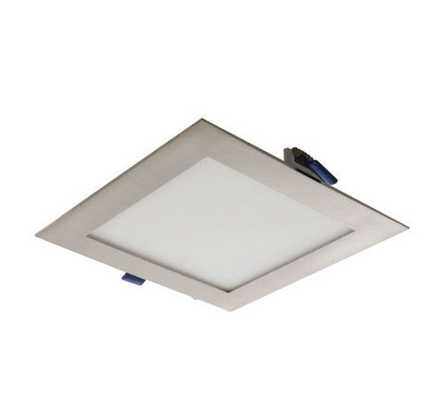 "ELCO Lighting ERT44140N 9W 4"" Ultra Slim LED Square Panel Light 4000K, 575lm"