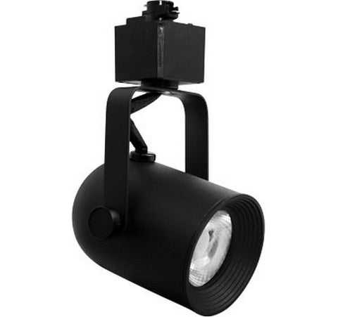 ELCO Lighting ET62X30DB Cleat Modern Black LED Track Lighting Head 120V - BuyRite Electric