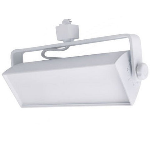 ELCO Lighting ETW40XXW Distell Contemporary White LED Track Light 120V - BuyRite Electric