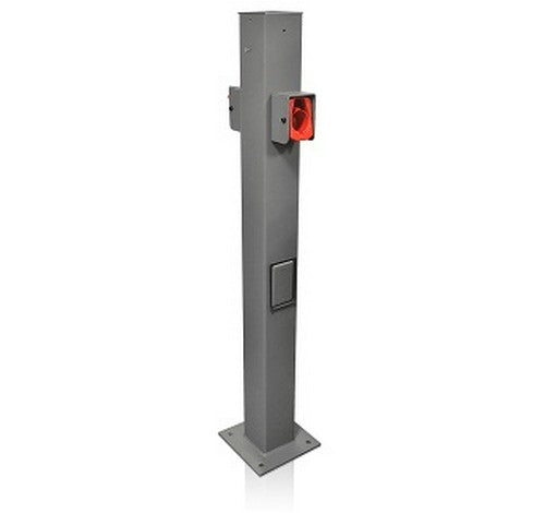 Leviton EVPED Pedestal Mounting Pole and Base used to mount the Evr-Green® e30 & e40 electric vehicle chargers. 208~240V AC