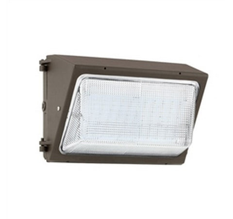 Hubbell Outdoor Lighting WGH-81L-4K-U-S 32W Bronze Finish LED Glass Wallpack, 81 LEDs, Type IV Distribution, 2893 Lumens, 4000K, 120-277V- BuyRite Electric