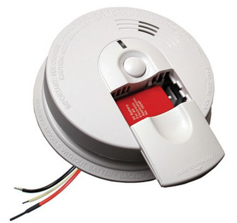 Kidde i4618 Firex Hardwired Smoke Alarm 120V AC / DC - BuyRite Electric