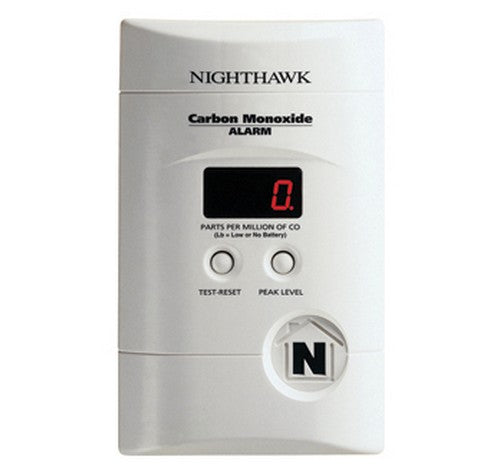 Kidde KN-COPP-3 Nighthawk™ AC Plug-in Operated Carbon Monoxide Alarm with Digital Display 9V - BuyRite Electric