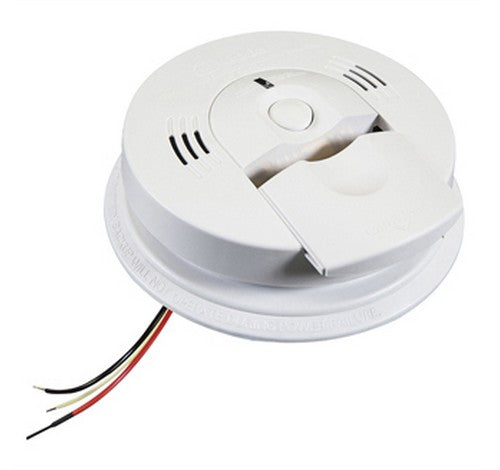 Kidde KN-COPE-IC Firex™ AC Hardwired Combination Carbon Monoxide & Photoelectric Smoke Alarm 120V AC / DC - BuyRite Electric