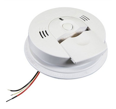 Kidde KN-COSM-IBA - Hardwired Combination Carbon Monoxide & Smoke Alarm 120V AC / DC - BuyRite Electric