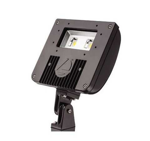 Lithonia Lighting DSXF1-LED-P2-50K-WFL-MVOLT-THK-DDBXD Flood Light Knuckle Mount 120-277V - BuyRite Electric