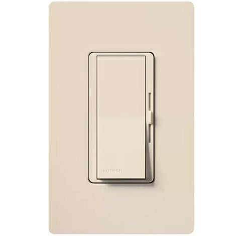 Lutron Diva Dimmable CFL / LED Dimmer LIGHT ALMOND - BuyRite Electric