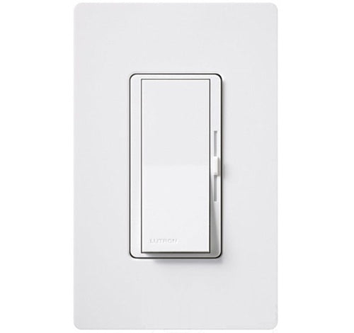 Lutron Diva Dimmable CFL / LED Dimmer WHITE - BuyRite Electric