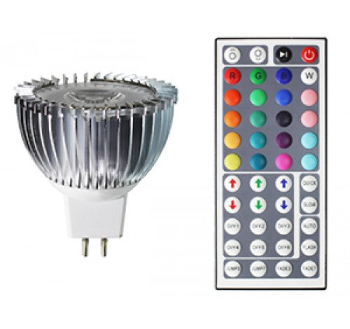 Westgate 5W Led MR16-RGB 12V AC - BuyRite Electric