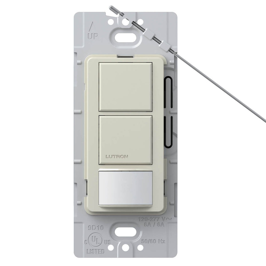 Lutron Maestro Dual-Circuit Switch with Occupancy / Partial-On Sensor LA - BuyRite Electric