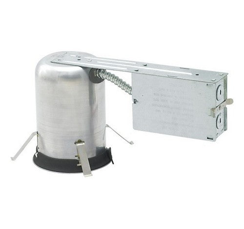 "NORA Lighting NHRIC-4LMRAT277 4"" IC Air Tight Remodel Housing with 50W Step Down Transformer 277V - BuyRite Electric"