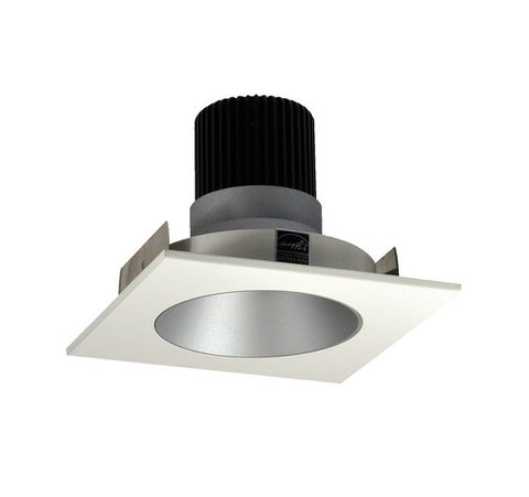 "NORA Lighting NIO-4SNDC 4"" Iolite, Square Reflector Deep Regressed Cone with Non-Adjustable Round Aperture - BuyRite Electric"
