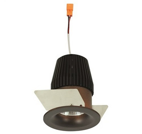 "NORA Lighting NIOB-1RNB 1"" Iolite Round Bull Nose Regressed Non-Adjustable BWF Trim - BuyRite Electric"