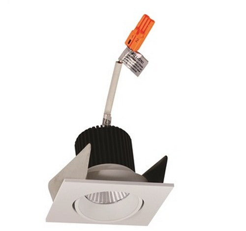 "NORA Lighting NIOB-2SC 2"" Iolite Square 15º Adjustable Cone Regressed Trim With 1000lm - BuyRite Electric"