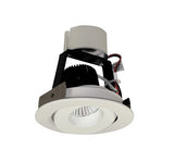 "NORA Lighting NIR-4RG 4"" Iolite Retrofit, Round Surface Adjustable Gimbal - BuyRite Electric"