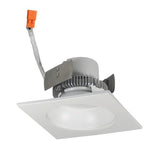 "NORA Lighting NLCBC2-45330BZBZ 4"" Cobalt Click Retrofit Square Reflector With Round Aperture Bronze Finish  3000K 750lm"