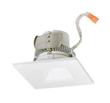 "NORA Lighting NLCBC2-456 4"" Cobalt Click Retrofit Square Reflector With Square Aperture 750lm - BuyRite Electric"