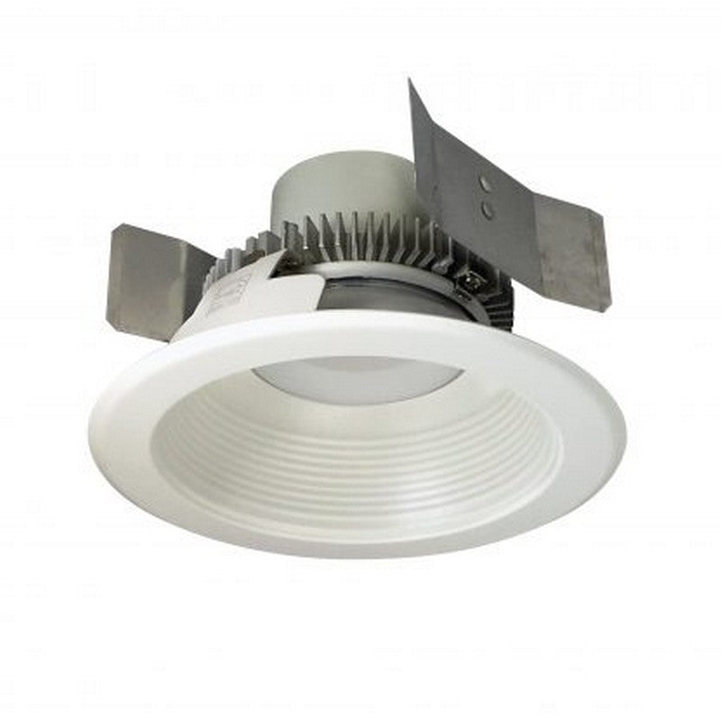 NORA Lighting NLCBC2-55227WW/10 12W 5 Inch Cobalt Click Retrofit Round Baffle White Finish 2700K 1000lm