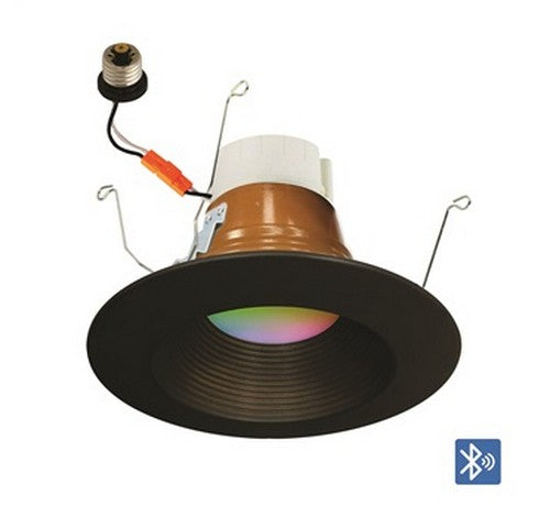 "NORA Lighting NLPR-5642 5 / 6"" PRISM Smart LED RGBW Retrofit Baffle Downlight 120V - BuyRite Electric"