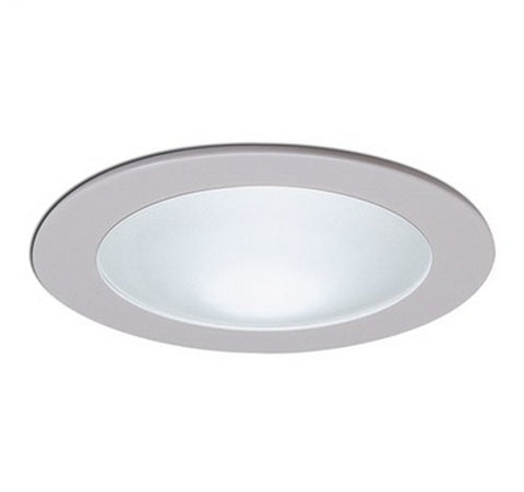Nora Lighting NS-25 4-Inch Frosted Dome Lens with Metal Trim - BuyRite Electric
