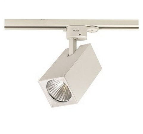 NORA Lighting NTE-854 Jason Square LED Track Fixture - BuyRite Electric