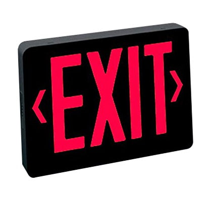 Nora Lighting NX-504-LED Universal Exit Sign LED Emergency light AC only