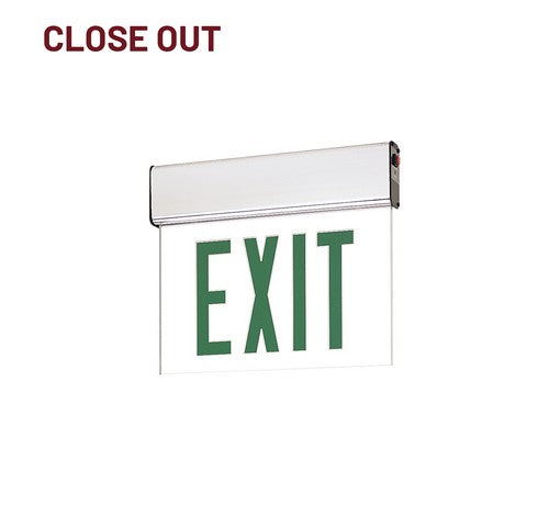Nora Lighting NX-508-LED Edge-Lit LED Exit Sign with Emergency Circuit - BuyRite Electric