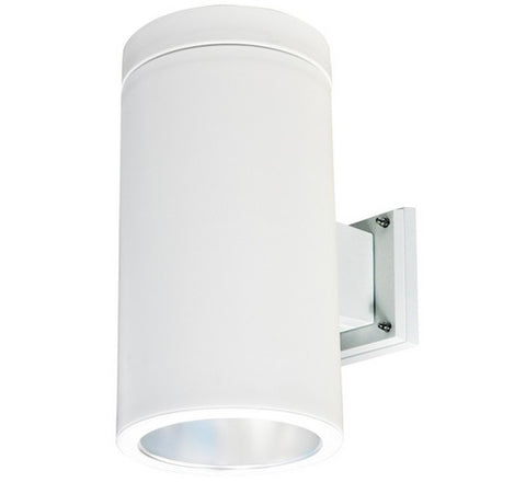 Nora Lighting NYLO-6W 12W 6 Inch LED Wall Mount White Onyx Cylinder and White Reflector 3000K Economy 750lm - BuyRite Electric