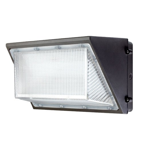 ELCO Lighting EWP90L40 LED Large Wall Packs 	90W 4000K 10900 lm 120/277V Dark Bronze Finish | BuyRite Electric