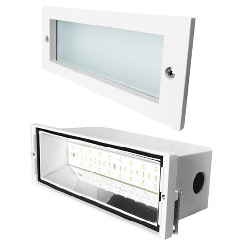 ELCO Lighting ELST84 High Tech LED Brick Light with Open Faceplate 12W 3000K 1000 lm 120V Finish | BuyRite Electric
